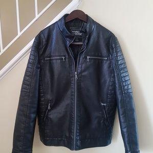 Hard Edge Leather Jacket